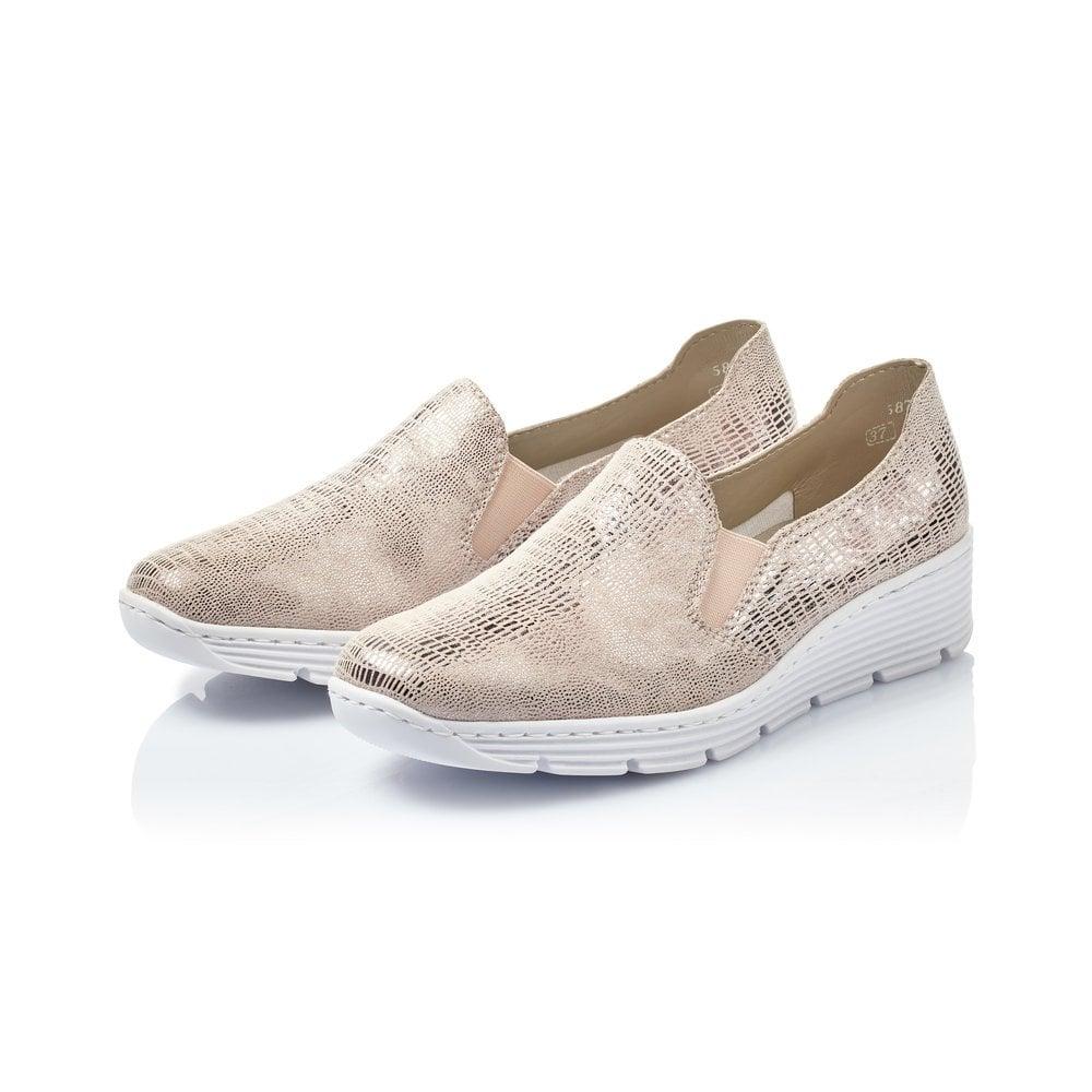 587B0-62 Rieker slip on shoe