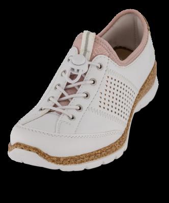 N42G8-80 Rieker white slip on shoe
