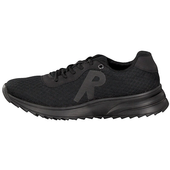 N6612-01 Rieker black laced sneakers