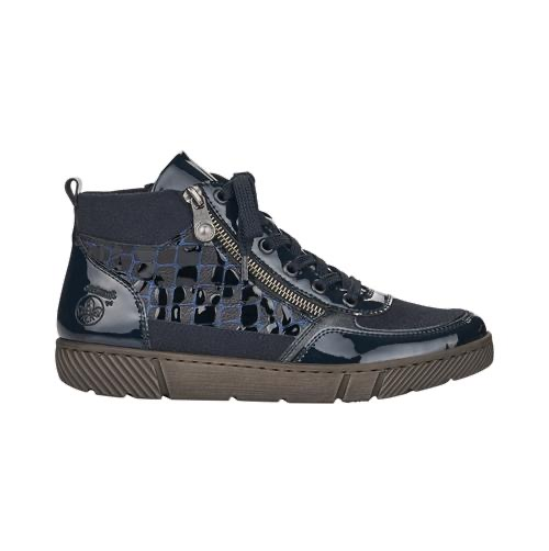 52941-14 Rieker Navy laced boot