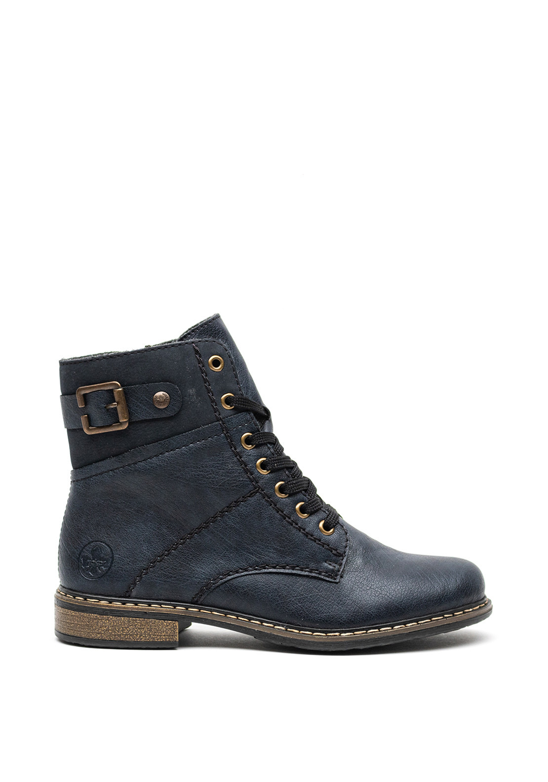 71242-15 Rieker navy laced boot