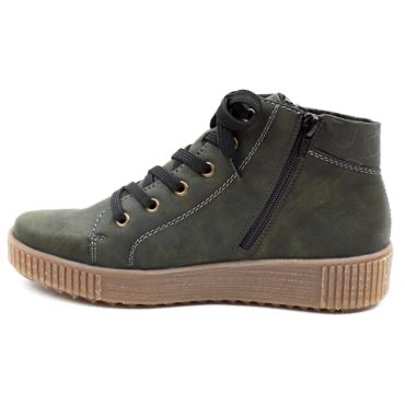 M6434-01 Rieker laced ankle boot