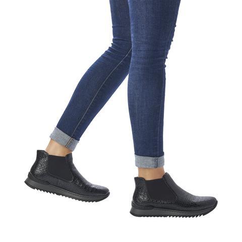 Rieker M3691-00 black ankle boot