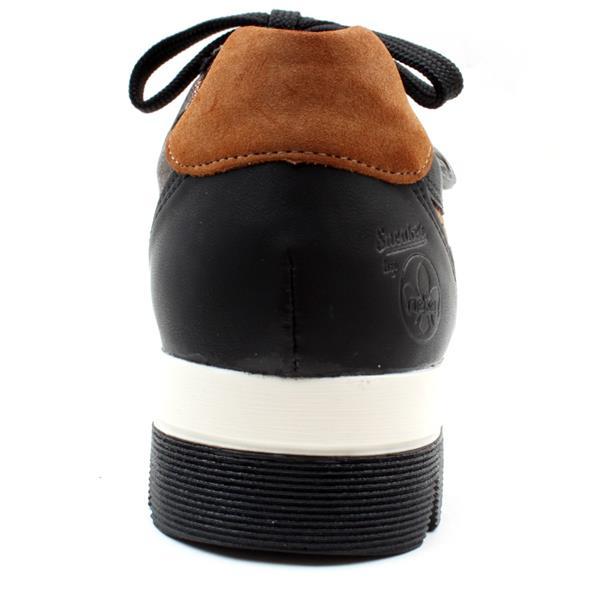 L2917-00 Rieker laced platform shoe