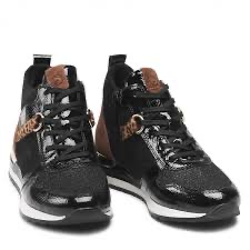 Remonte R2574-02 Black laced boot