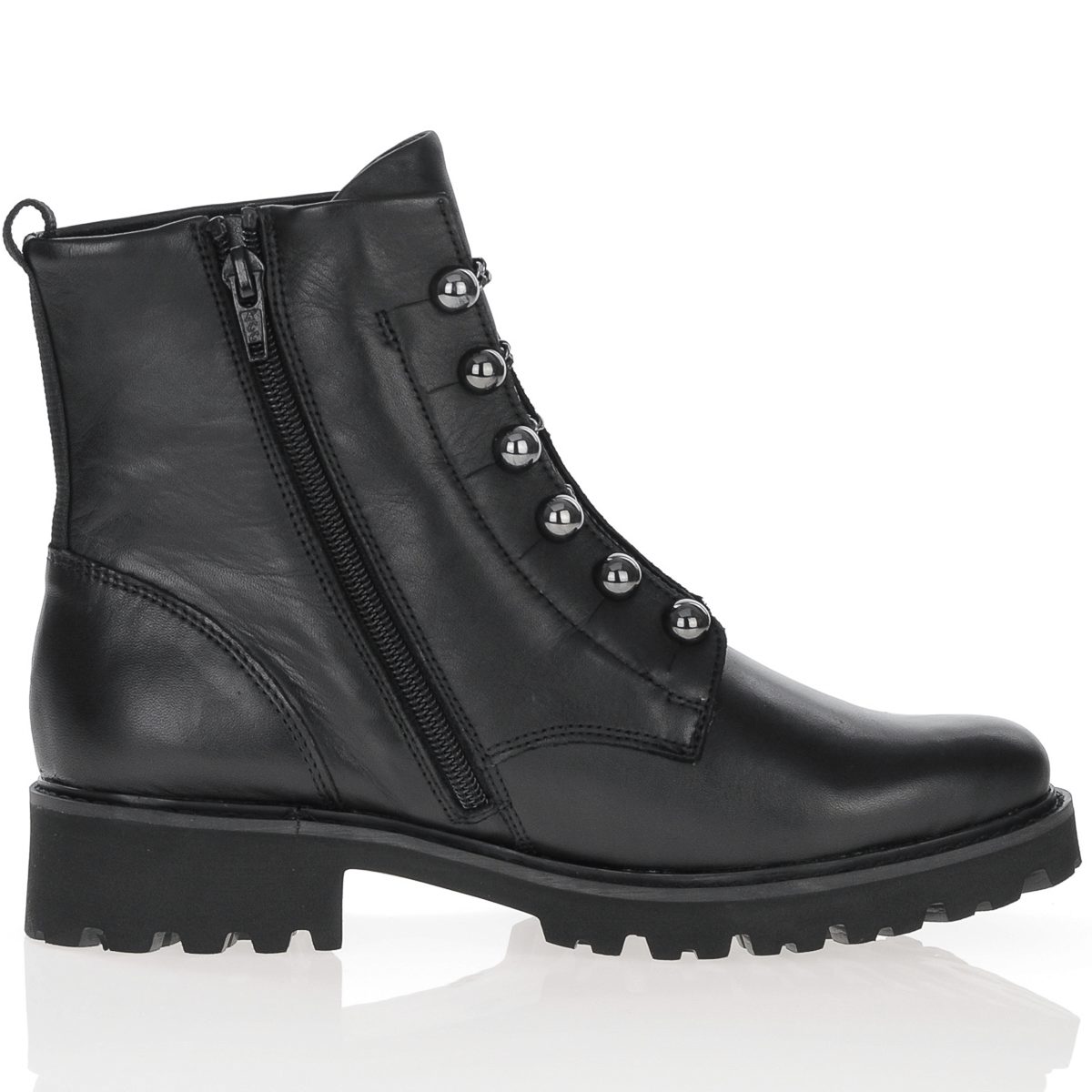 D8670-01 Remonte black leather boot