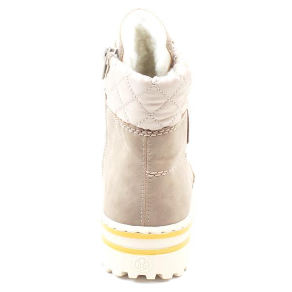 Rieker Z8101-64 beige lace up boot